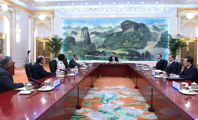 "Xi says BRICS cooperation will usher in new ""golden decade"""