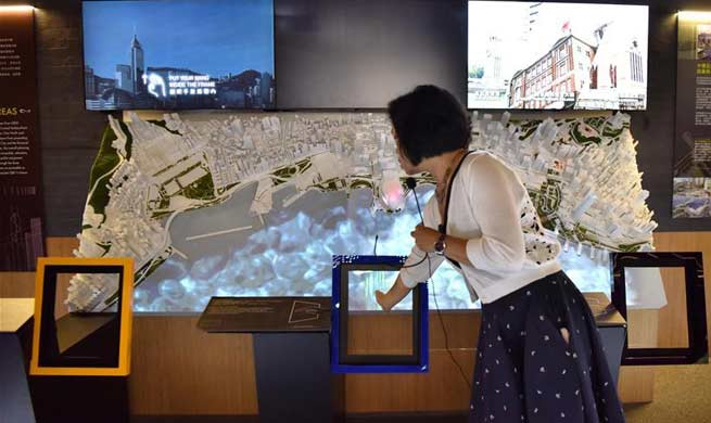 Exhibition held to celebrate 20th anniv. of establishment of HKSAR