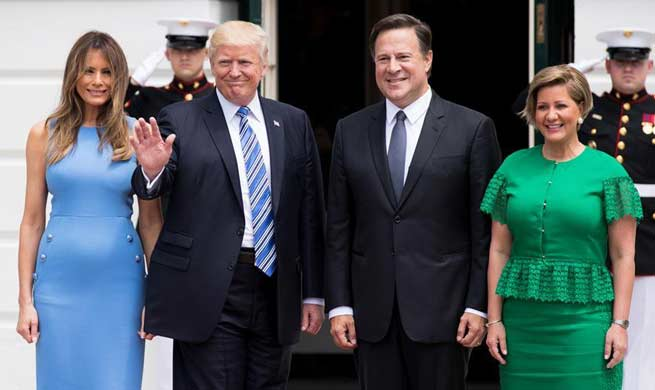 Trump welcomes Panamanian president, hails bilateral ties