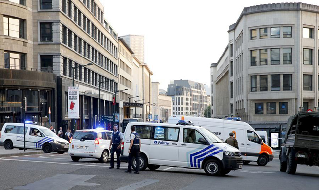 Brussels central station evacuated after small explosion