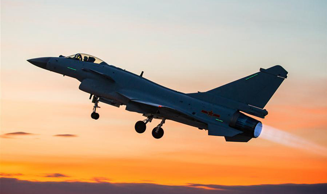 China's J-10B fighter jet to join competition of int'l military game