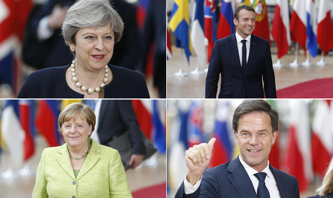 Two-day EU Summit held in Brussels, Belgium