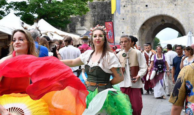 34th Medieval Festival marked in Provins, France