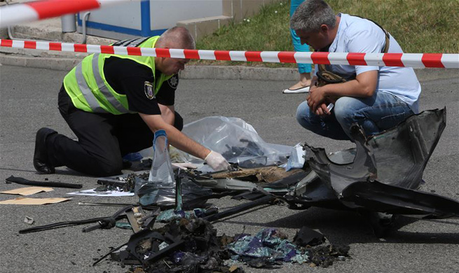 Senior Ukrainian intelligence officer killed in car blast in Kiev