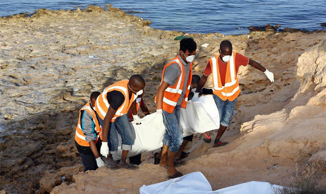 At least 25 bodies of drowned migrants found near Tripoli of Libya