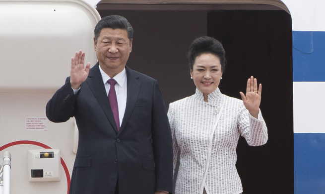 Xi arrives in Hong Kong for 20th return anniversary