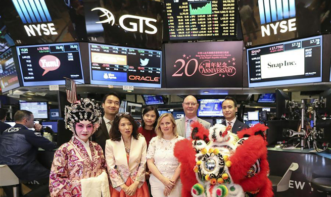 NYSE special closing bell celebrates 20th Anniversary of HKSAR' s establishment