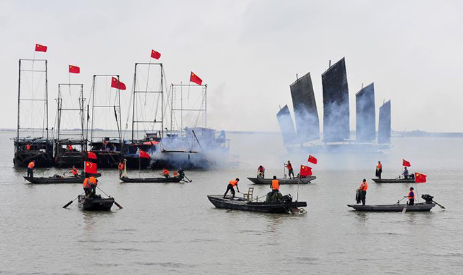 Five-month fishing ban on Hongze Lake ends in E China