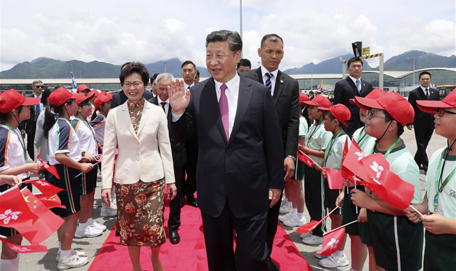 Xi wraps up three-day Hong Kong trip