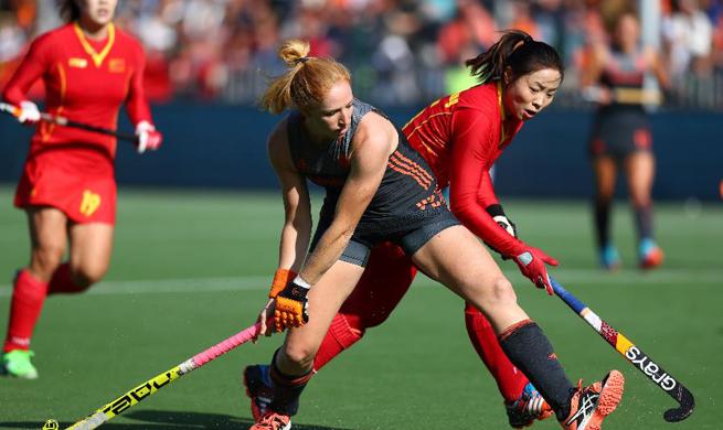 2017 Women Hocky World League semi-final: China vs. Netherlands