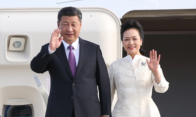 Xi arrives in Berlin for state visit to Germany