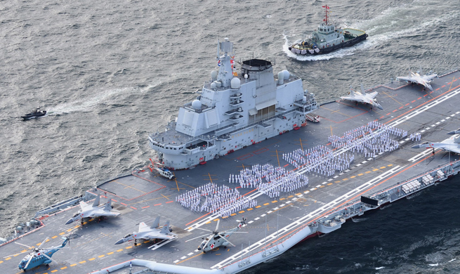 Chinese aircraft carrier formation arrives in HK, to open for public to visit