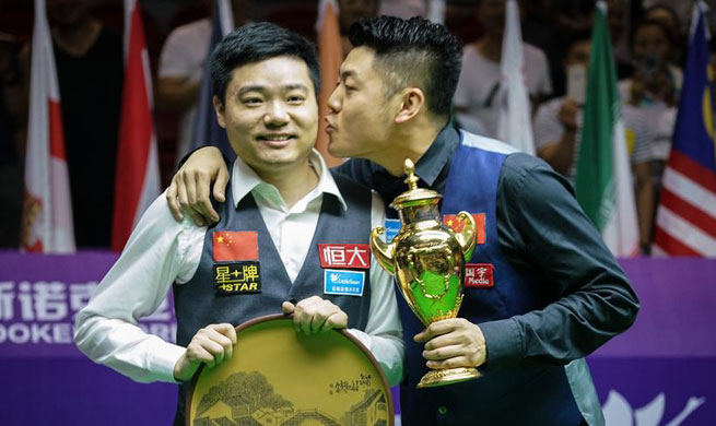 China team A claims title of 2017 Snooker World Cup