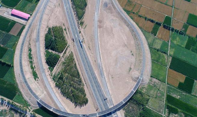 Jingxin Expressway links Beijing and Urumqi