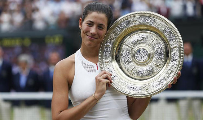 Muguruza crushes Venus Williams to win Wimbledon title