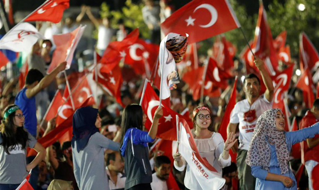 Turkey marks anniversary of failed coup with rallies