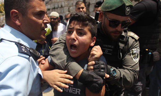 Muslim protest continues as Israel reopens Jerusalem's al-Aqsa compound