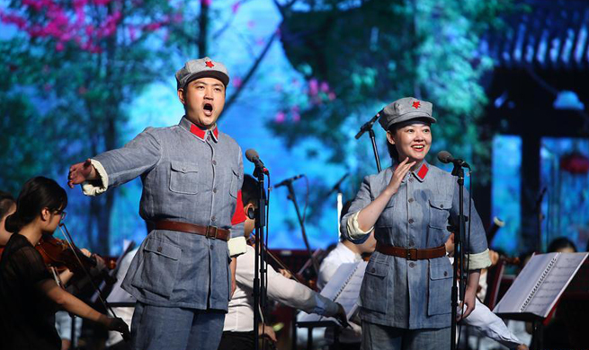 "Opera ""Red Detachment of Women"" staged in S. China"