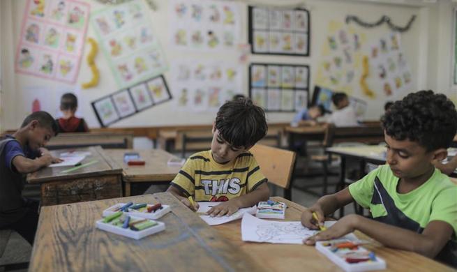 UN launches summer fun games week for children in Gaza