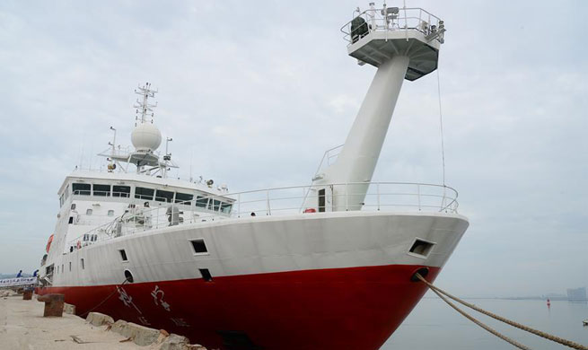 Research vessel Kexue leaves Xiamen for 2nd stage of science expedition