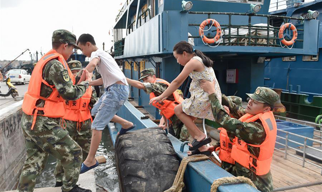 China evacuates thousands as Typhoon Nesat approaches