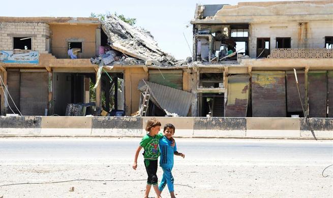 Families return as Syrian army retakes Maskanah