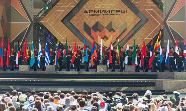 Int'l Army Games 2017 kicks off in Moscow, Russia
