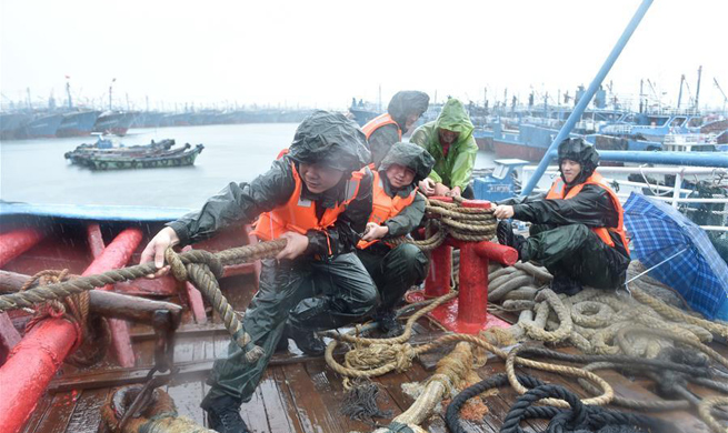 Typhoon Nesat makes landfall in southeast China
