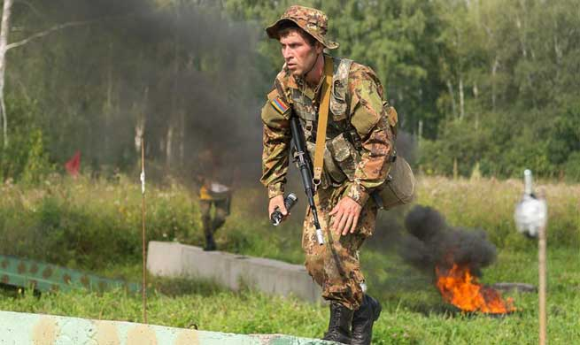 "In pics: ""Army Scout Masters"" competition of Int'l Army Games"