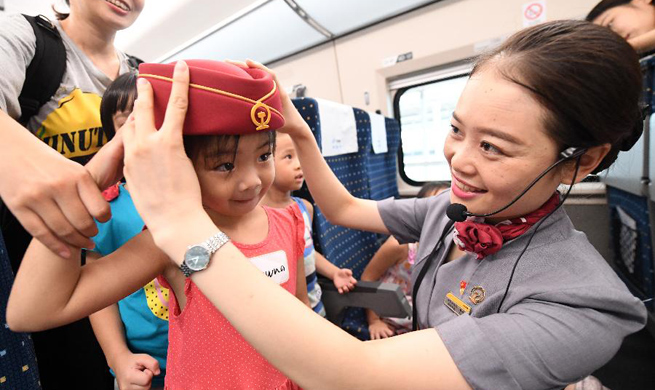 Bullet train introduced to visitors in Nanning