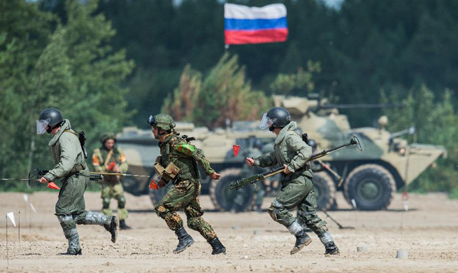 Int'l Army Games 2017 to be held until Aug. 12 in Russia