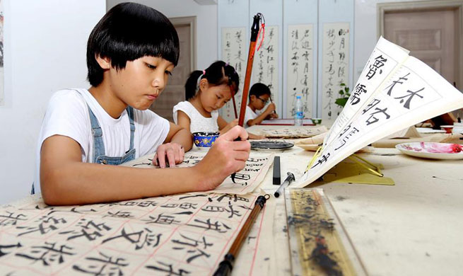 Youth summer camp held in N China's Hebei