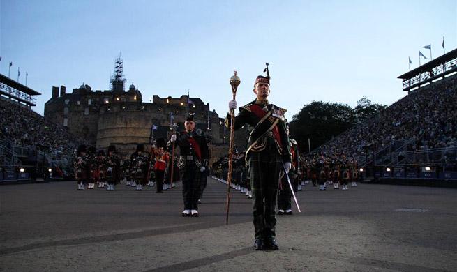 Military bands perform at 2017 Royal Edinburgh Military Tattoo