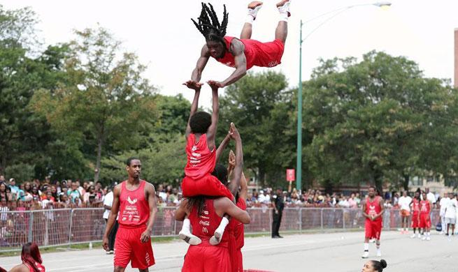Annual Bud Billiken Parade held in Chicago