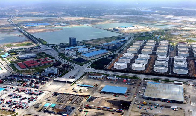 Qinzhou port plays important role in trade between China and ASEAN