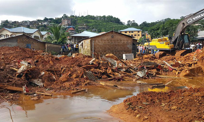 Sierra Leone President declares 7-day national mourning for mudslide victims