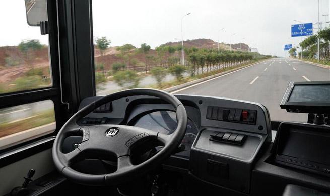 12-meter-long electric smart bus starts road test