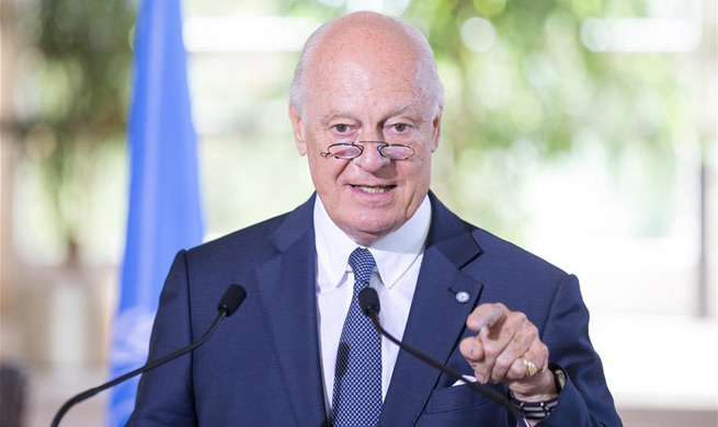 "UN envoy says ""real substantive"" peace talks on Syria scheduled for Oct."