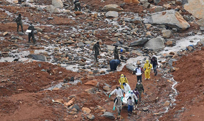 Over 400 killed in mudslides in Sierra Leone: UN
