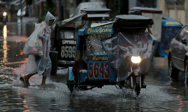 Tropical Storm Hato enhances monsoon in northern Philippines