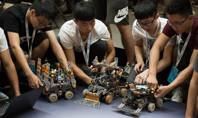 World Robot Conference 2017 kicks off in Beijing