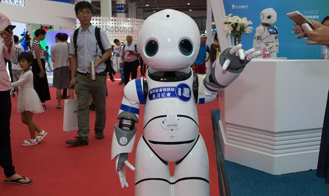 Video: 2017 World Robot Conference is held in Beijing