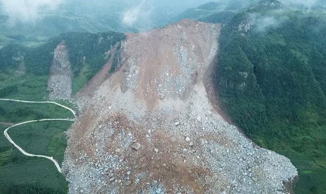 Death toll rises to 3 after landslide in southwest China