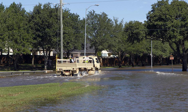 Torrential rain in Texas results in heavy flooding and damages