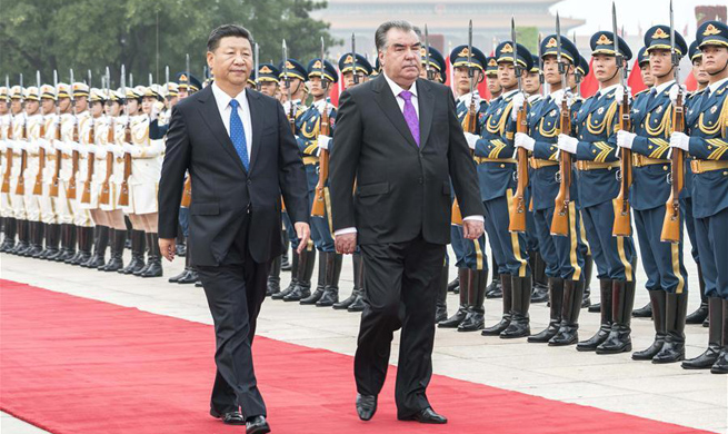 China, Tajikistan agree to forge comprehensive strategic partnership