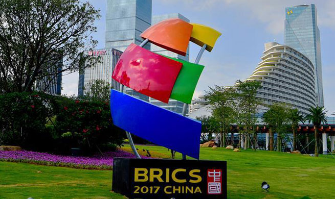 Xiamen gears up for 9th BRICS Summit