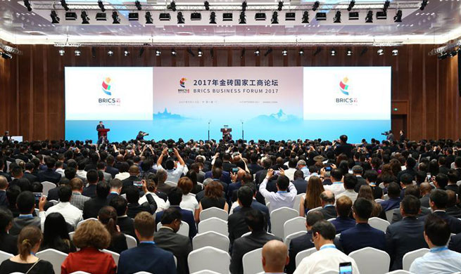BRICS Business Forum opens in Xiamen
