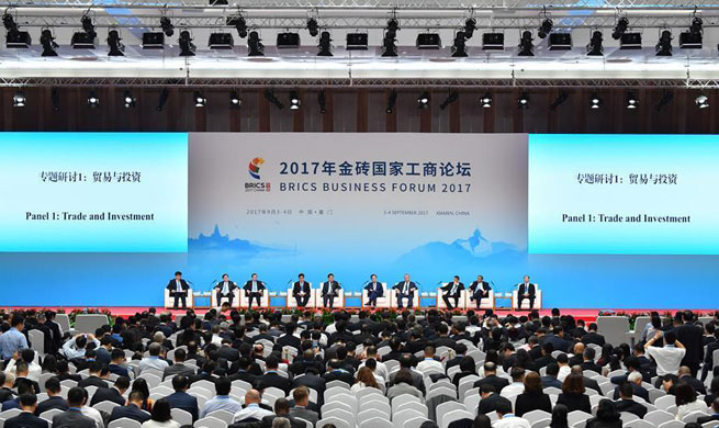 Panel discussion on trade and investment held at BRICS Business Forum