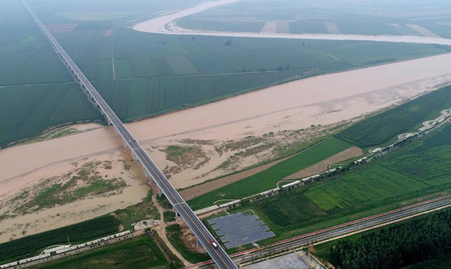 New highway along Yellow River benefits over 2 million people