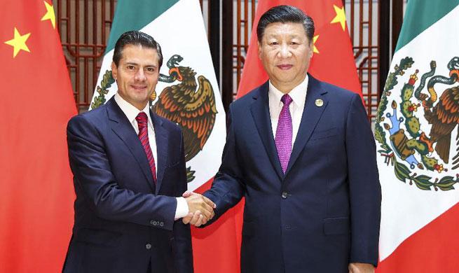Xi stresses China-Mexico strategic synergy